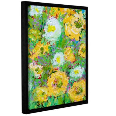 Brushstone Villa Ephruss Garden Gallery Wrapped Floater-Framed Canvas