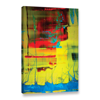 Brushstone Suspended Gallery Wrapped Canvas Wall Art