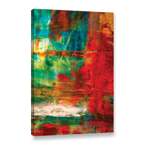 Brushstone The Abstract Forest Gallery Wrapped Canvas Wall Art
