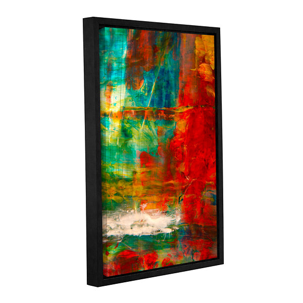 Brushstone The Abstract Forest Gallery Wrapped Floater-Framed Canvas Wall Art
