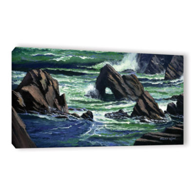Brushstone View From The Bluffs Gallery Wrapped Canvas Wall Art