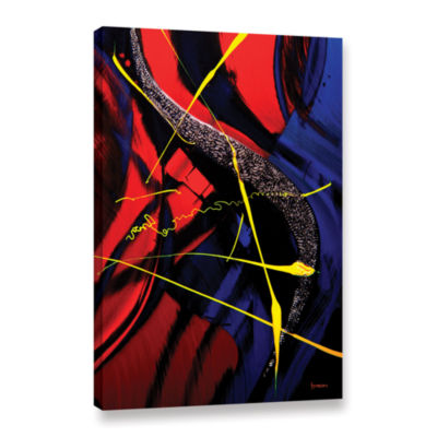 Brushstone The Abstract Musical Note Gallery Wrapped Canvas Wall Art