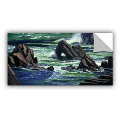 Brushstone View From The Bluffs Removable Wall Decal