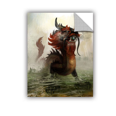 Brushstone Vietnamese Dragon Removable Wall Decal