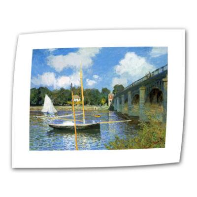 Brushstone The Bridge Of Argenteuil Canvas Wall Art
