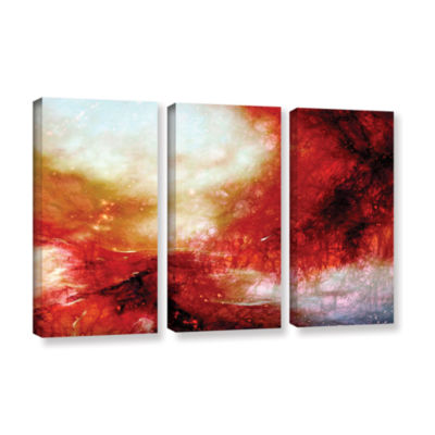 Brushstone Universe 3-pc. Gallery Wrapped Canvas Set