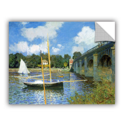Brushstone The Bridge Of Argenteuil Removable WallDecal