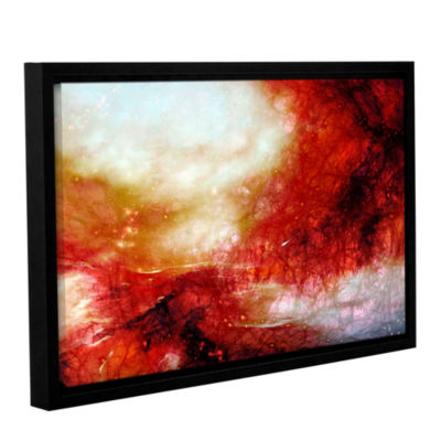 Brushstone Universe Gallery Wrapped Floater-FramedCanvas