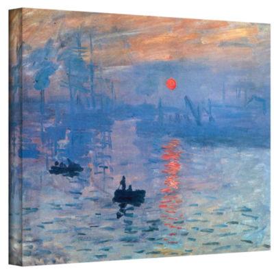 Brushstone Sunrise Gallery Wrapped Canvas Wall Art