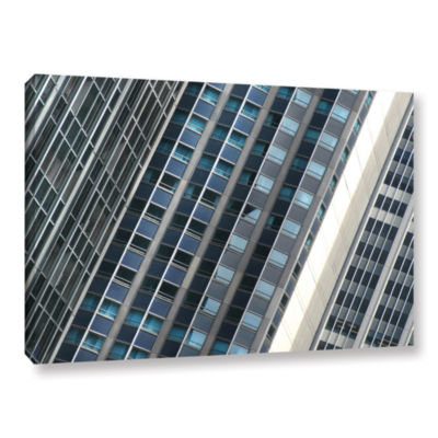 Brushstone Urban Abstract Gallery Wrapped Canvas