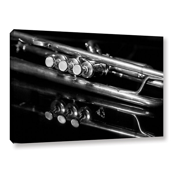 Brushstone Valves Gallery Wrapped Canvas
