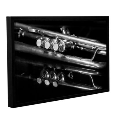 Brushstone Valves By Dan Holm Gallery Wrapped Floater-Framed Canvas Wall Art