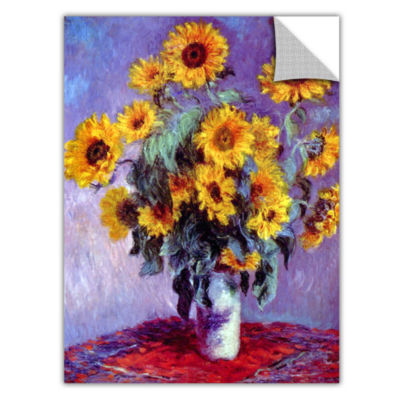 Brushstone Sunflowers (bouquet) Removable Wall Decal