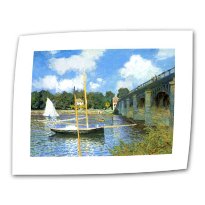 Brushstone The Bridge Of Argenteuil (Same As 1) Canvas Wall Art