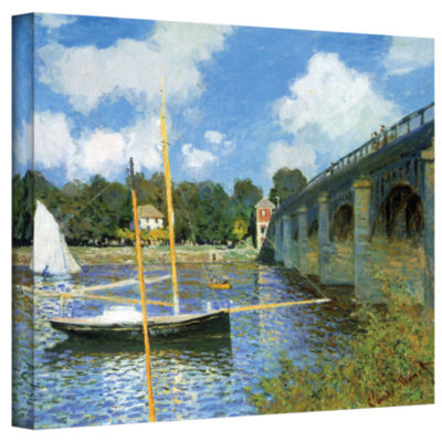 Brushstone The Bridge Of Argenteuil (Same As 1) Gallery Wrapped Canvas Wall Art