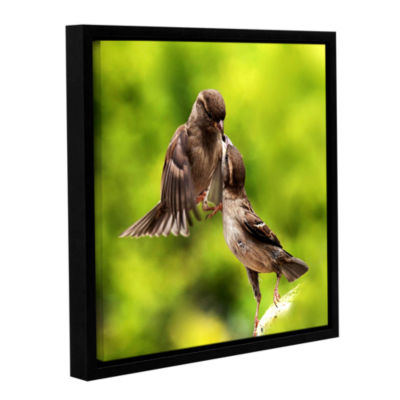 Brushstone Ulookinatme Gallery Wrapped Floater-Framed Canvas Wall Art