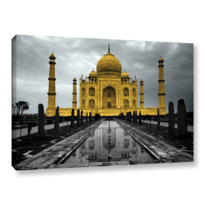 Brushstone Taj Mahal Gallery Wrapped Canvas Wall Art