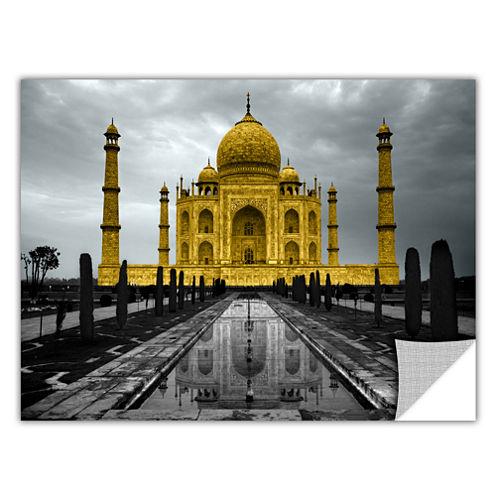 Brushstone Taj Mahal Removable Wall Decal