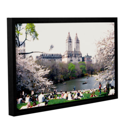 Brushstone The Dakota And Central Park Gallery Wrapped Floater-Framed Canvas Wall Art