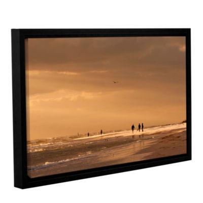 Brushstone Walkers Siesta Key Gallery Wrapped Floater-Framed Canvas Wall Art
