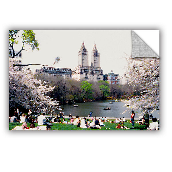 Brushstone The Dakota And Central Park Removable Wall Decal