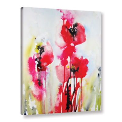 Brushstone Vivid Blossoms Gallery Wrapped Canvas