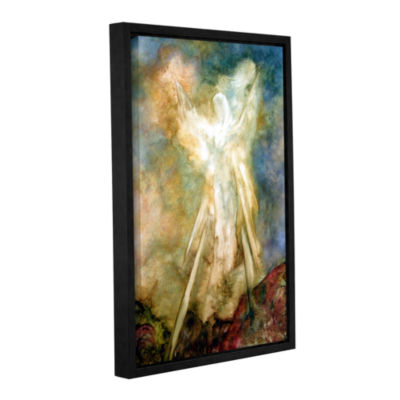 Brushstone The Appearance Gallery Wrapped Floater-Framed Canvas Wall Art