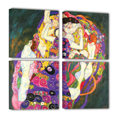 Brushstone Virgins 4-pc. Gallery Wrapped Canvas Square Set