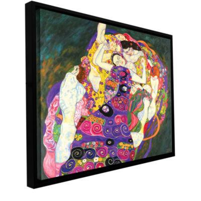 Brushstone Virgins Gallery Wrapped Floater-FramedCanvas