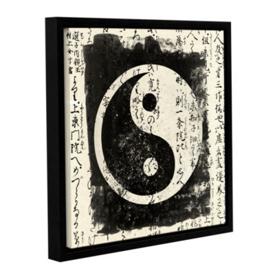 Brushstone Tao Gallery Wrapped Floater-Framed Canvas Wall Art