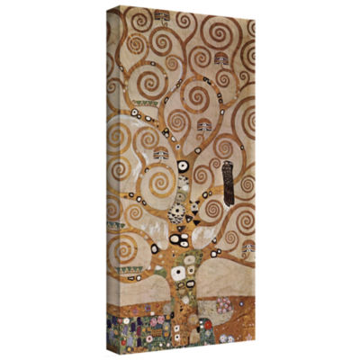 Brushstone Water Snakes Gallery Wrapped Canvas