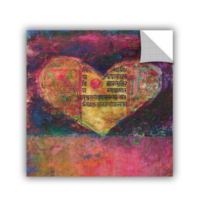 Brushstone Tantra Heart Removable Wall Decal