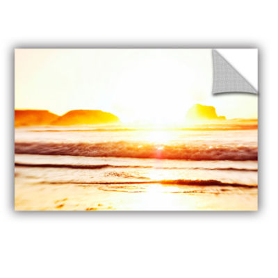 Brushstone Sunset On The Sea Removable Wall Decal