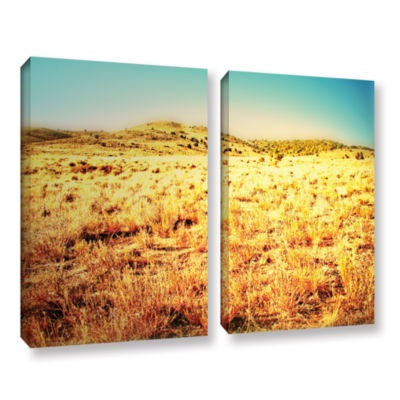 Brushstone Take A Seat 2-pc. Gallery Wrapped Canvas Wall Art