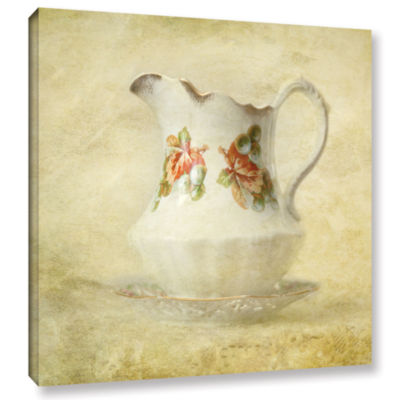 Brushstone Water Pitcher Gallery Wrapped Canvas