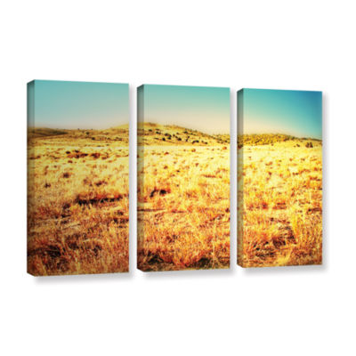 Brushstone Take A Seat 3-pc. Gallery Wrapped Canvas Wall Art