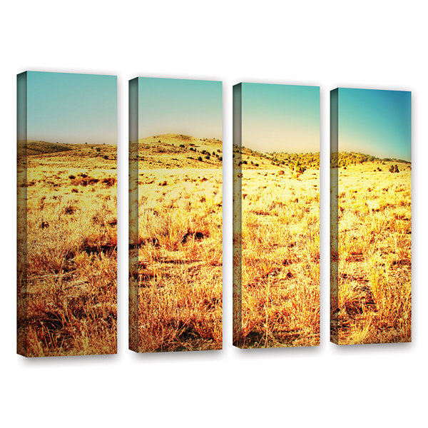 Brushstone Take A Seat 4-pc. Gallery Wrapped Canvas Wall Art