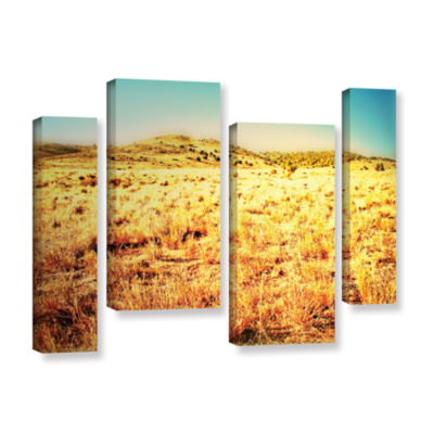 Brushstone Take A Seat 4-pc. Gallery Wrapped Staggered Canvas Wall Art