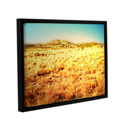 Brushstone Take A Seat Gallery Wrapped Floater-Framed Canvas Wall Art