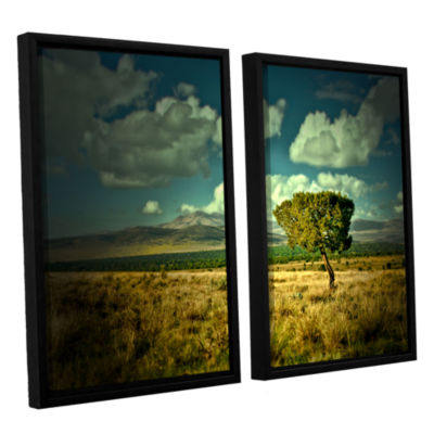 Brushstone Taking A Moment 2-pc. Floater Framed Canvas Wall Art