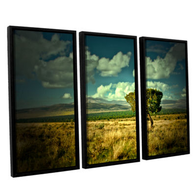 Brushstone Taking A Moment 3-pc. Floater Framed Canvas Wall Art