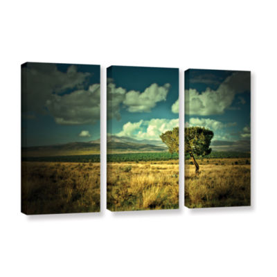 Brushstone Taking A Moment 3-pc. Gallery Wrapped Canvas Wall Art