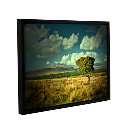 Brushstone Taking A Moment Gallery Wrapped Floater-Framed Canvas Wall Art