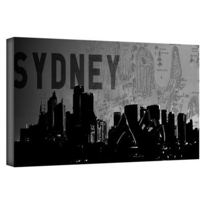 Brushstone Sydney Gallery Wrapped Canvas Wall Art