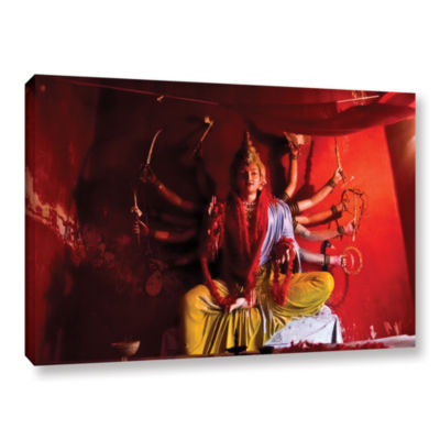 Brushstone Twelve Arms Gallery Wrapped Canvas