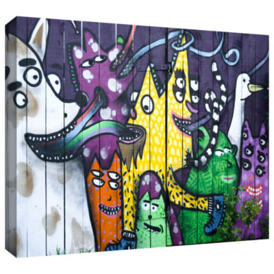 Brushstone Taranki 101 Gallery Wrapped Canvas WallArt