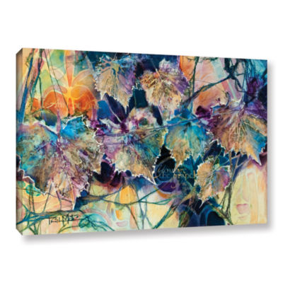 Brushstone Vine & Branches Gallery Wrapped CanvasWall Art