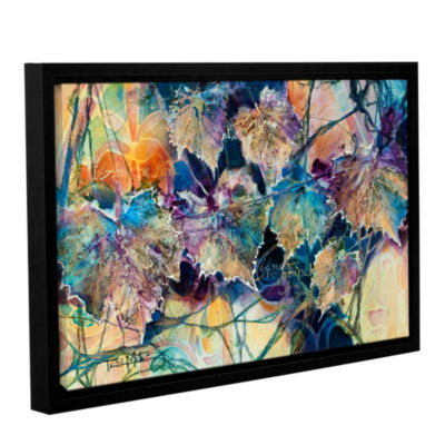 Brushstone Vine & Branches Gallery Wrapped Floater-Framed Canvas