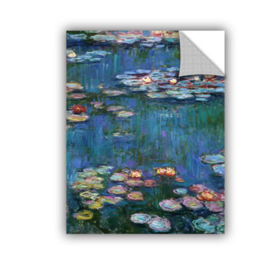 Brushstone Water Lillies Removable Wall Decal