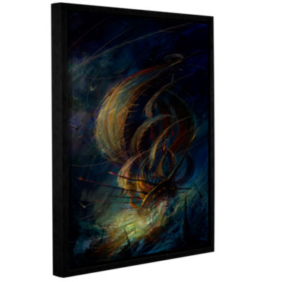 Brushstone The Apparition Gallery Wrapped Floater-Framed Canvas Wall Art